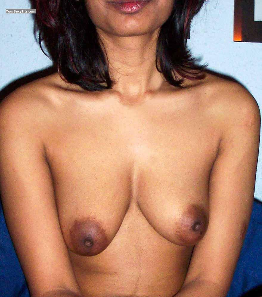 Tit Flash: My Friend's Medium Tits - Salma from Vanuatu